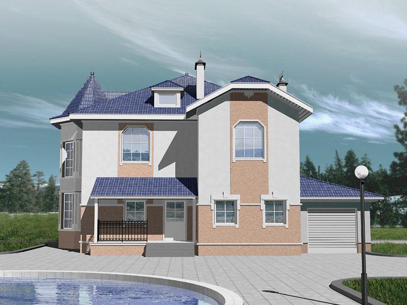 Проектирование блочных домов.