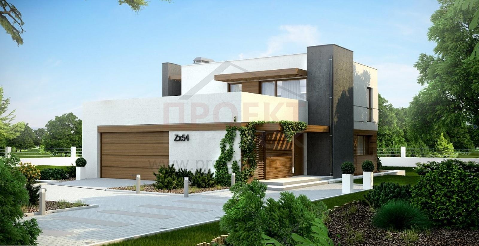 проекты домов в стиле хай тек